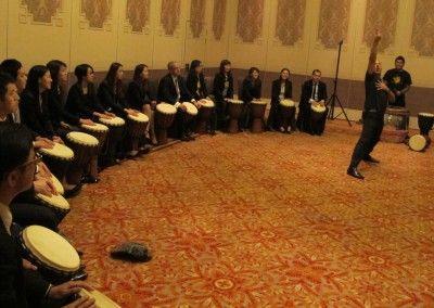 Drumming Leaders Performance