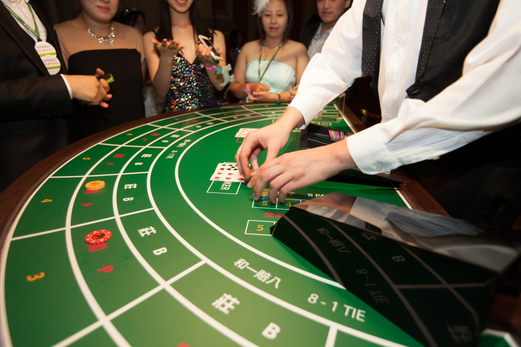 casino themed events Hong Kong